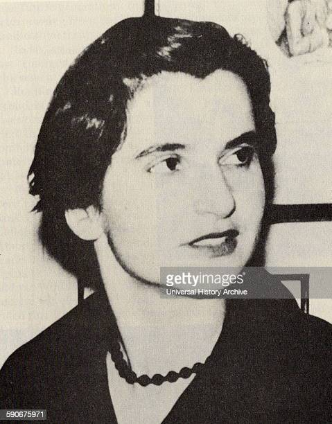 Rosalind Elsie Franklin English chemist and Xray crystallographer who made contributions to the understanding of the fine molecular structures of DNA...