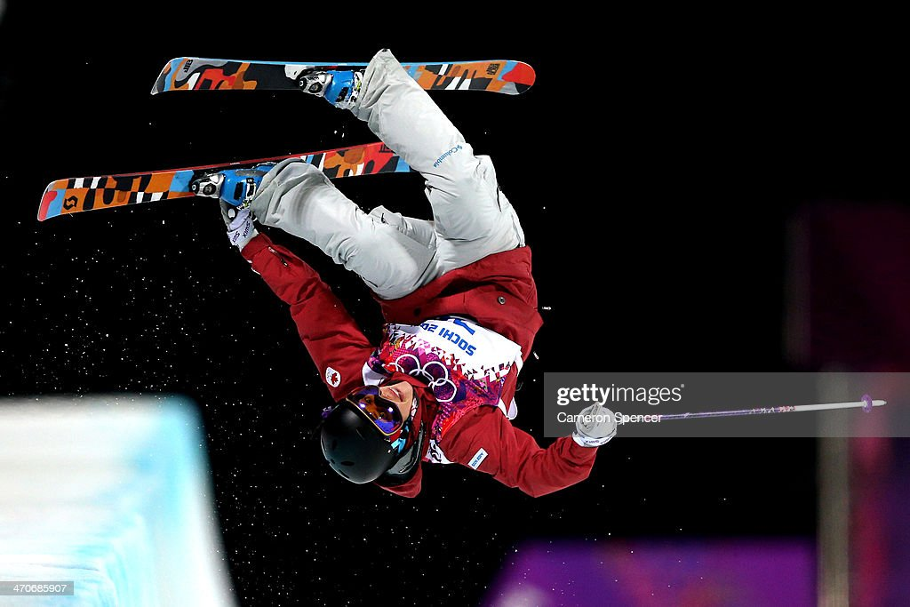 <a gi-track='captionPersonalityLinkClicked' href=/galleries/search?phrase=Rosalind+Groenewoud&family=editorial&specificpeople=4891584 ng-click='$event.stopPropagation()'>Rosalind Groenewoud</a> of Canada competes in the Freestyle Skiing Ladies' Ski Halfpipe Qualification on day thirteen of the 2014 Winter Olympics at Rosa Khutor Extreme Park on February 20, 2014 in Sochi, Russia.