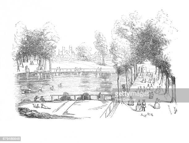 Rosamond's Pond in 1740' c1870 A large pond in St James's Park the oldest of the capital's eight Royal Parks the Royal Parks of London are lands...
