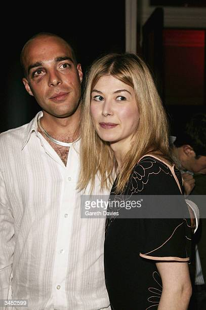 Rosamund Pike Boyfriend Stock Photos and Pictures | Getty ...