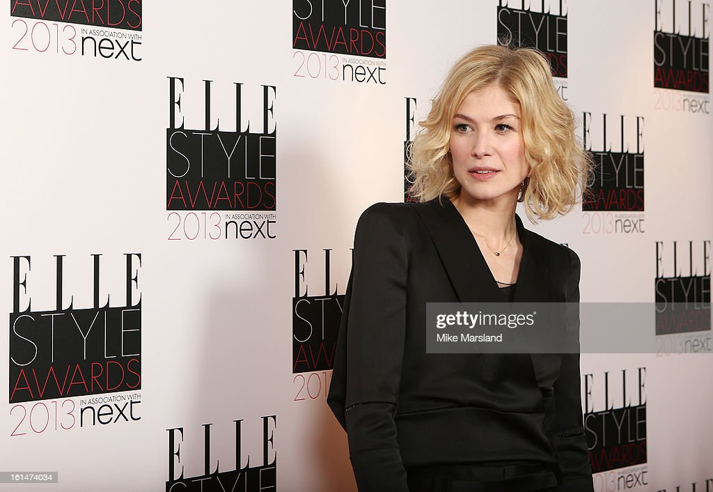 Rosamund Pike attends the Elle Style Awards 2013 at The Savoy Hotel on February 11, 2013 in London, England.
