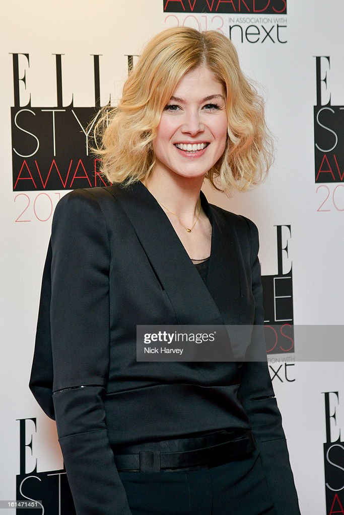 Rosamund Pike attends the Elle Style Awards 2013 on February 11, 2013 in London, England.