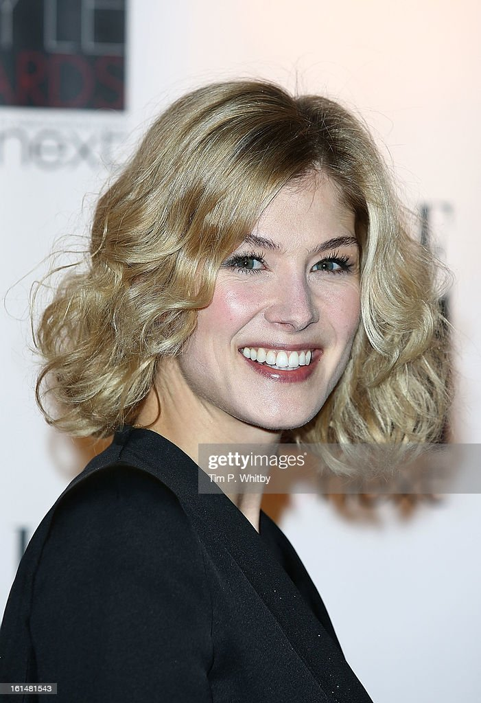 Rosamund Pike attends the Elle Style Awards at Savoy Hotel on February 11, 2013 in London, England.