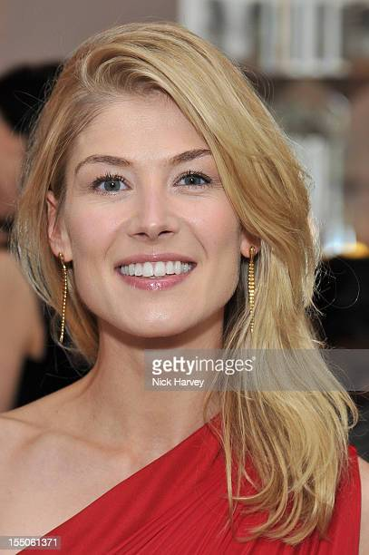 Rosamund Pike attends the Harper's Bazaar Woman of the Year Awards at Claridge's Hotel on October 31 2012 in London England