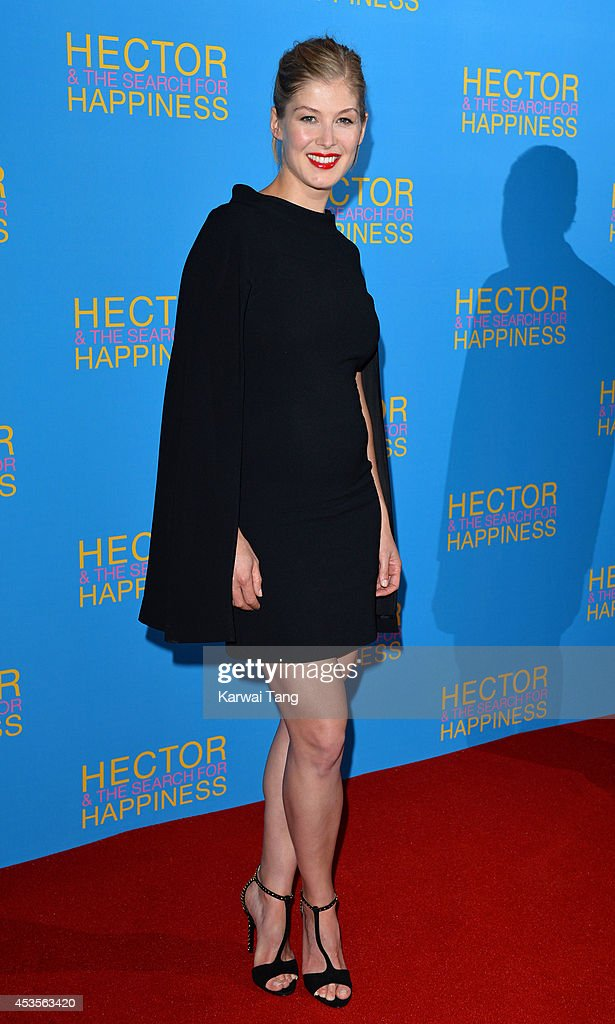 <a gi-track='captionPersonalityLinkClicked' href=/galleries/search?phrase=Rosamund+Pike&family=editorial&specificpeople=208910 ng-click='$event.stopPropagation()'>Rosamund Pike</a> attends the UK Premiere of 'Hector And The Search For Happiness' at Empire Leicester Square on August 13, 2014 in London, England.