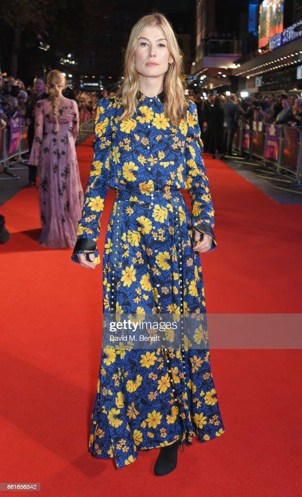 """Three Billboards Outside Ebbing, Missouri"" UK Premiere & Closing Night Gala - 61st BFI London Film Festival - VIP Arrivals"