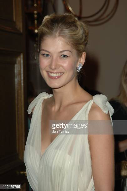 Rosamund Pike during 'Pride Prejudice' London Premiere After Party in London Great Britain