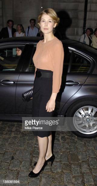 Rosamund Pike during 'The Queen' UK Film Premiere Outside Arrivals at Curzon Mayfair in London Great Britain