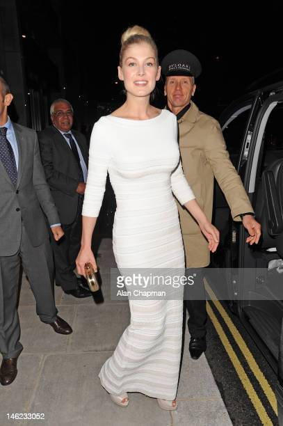 Rosamund Pike sighting on June 12 2012 in London England