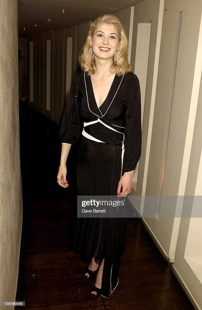 Rosamund Pike (the Hitchcock Blonde), The Royal Courts 'Hitchcock Blonde' Transfers To Lyric Theatre, West End After A Great Run In Sloane Square, Followed By An After Party At Teatro In Shaftesbury , London