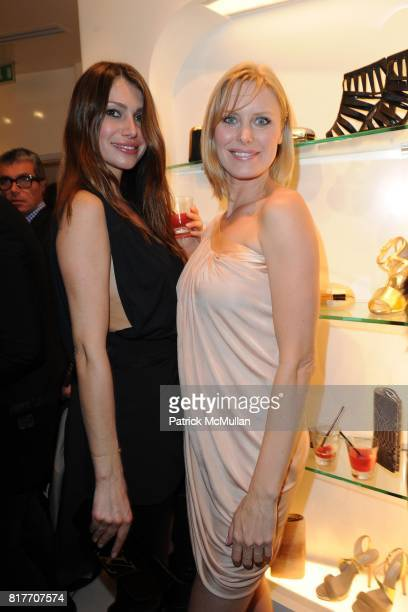 Rosana Paris and Giseli Francine attend Carlos Miele and Vogue Italia Celebrate Limited Edition of TShirts Designed by Lapo Elkann and Bianca...