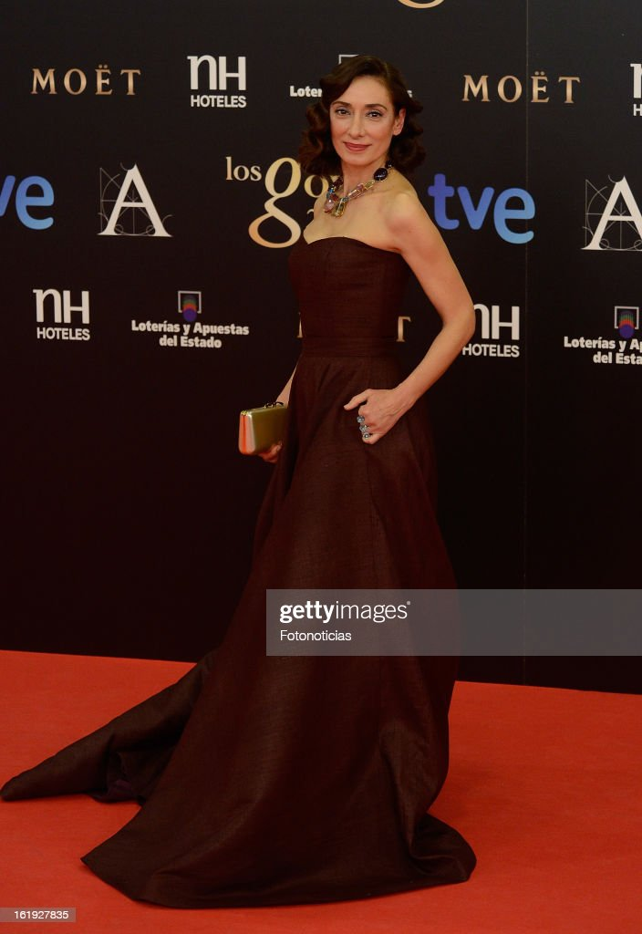 Rosana Pastor attends Goya Cinema Awards 2013 at Centro de Congresos Principe Felipe on February 17, 2013 in Madrid, Spain.