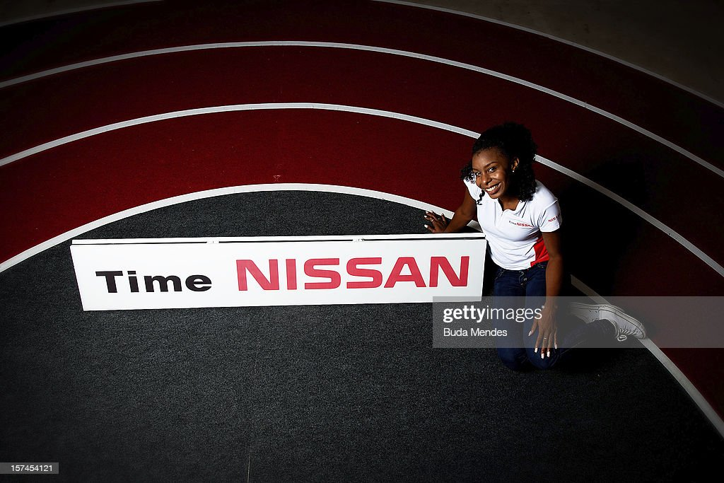 Rosangela Santos during the presentation of Team Nissan for Rio de Janeiro Olympics Games 2016 at Cine Lagoon on November 27, 2012 in Rio de Janeiro, Brazil.