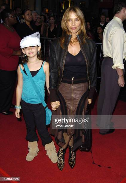 Rosanna Arquette and Daughter Zoe during 'The Ten Commandments' Opening Night at Kodak Theatre in Los Angeles CA United States