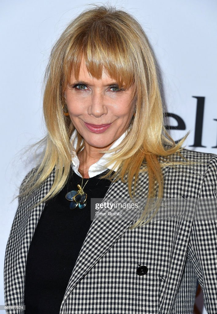 Rosanna Arquette arrives at the Premiere Of Open Road Films' 'The Promise' at TCL Chinese Theatre on April 12, 2017 in Hollywood, California.