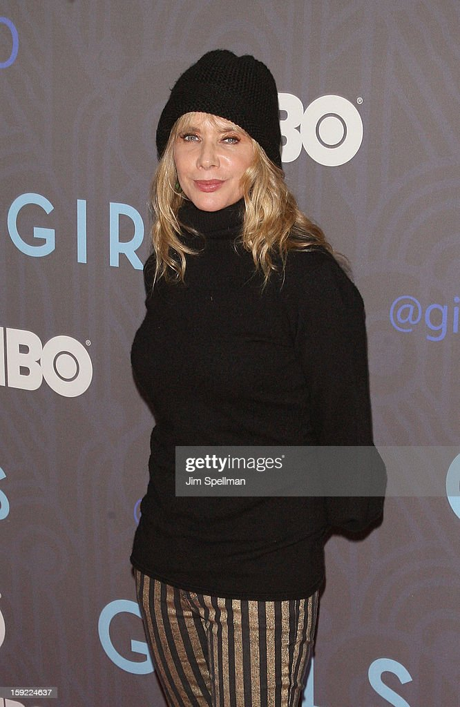 Rosanna Arquette attends Cinema Society Presents The World Premiere Of 'Girls' Season 2at NYU Skirball Center on January 9, 2013 in New York City.