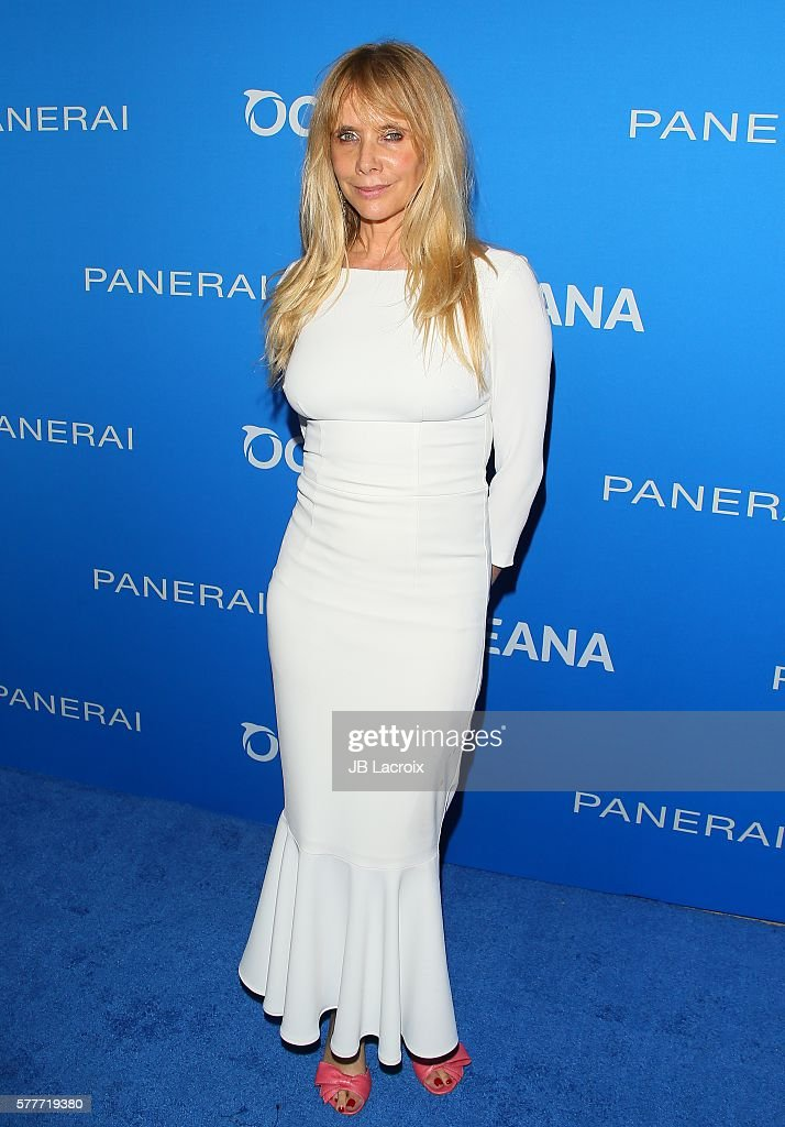 Rosanna Arquette attends the Oceana 'Sting Under The Stars' event on July 19 2016 in Los Angeles California