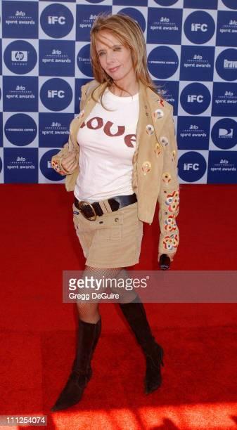 Rosanna Arquette during The 19th Annual IFP Independent Spirit Awards Arrivals at Santa Monica Pier in Santa Monica California United States