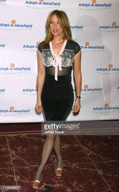 Rosanna Arquette during The 3rd Annual AdoptAMinefield Benefit Gala at Beverly Hilton Hotel in Beverly Hills California United States