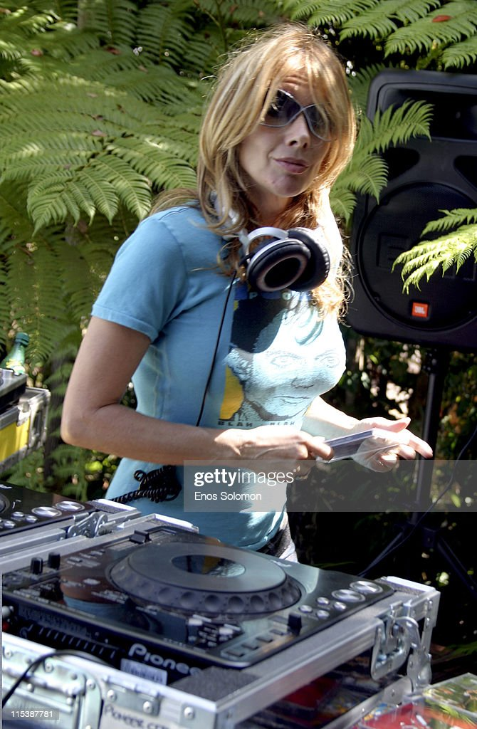 Rosanna Arquette during W Hollywood Yard Sale Presented by W Magazine and Guess to Benefit Clothes Off Our Back in Brentwood, California, United States.