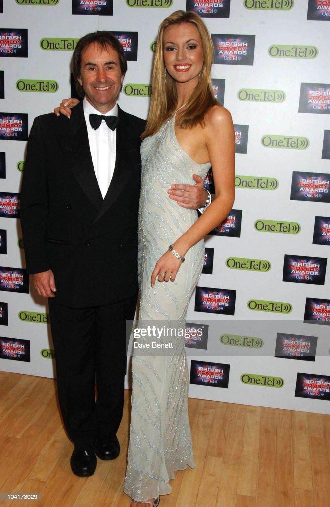 Rosanna Davison And Father Chris De Burgh, British Comedy Awards At Lwt Studios In London, Pressroom