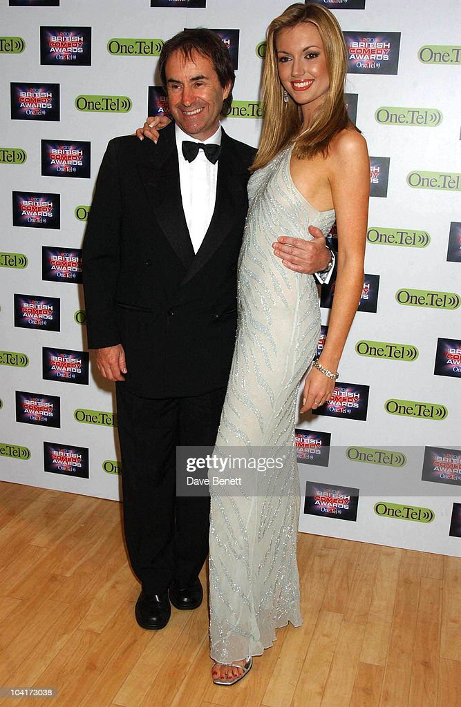 Rosanna Davison And Father Chris De Burgh, British Comedy Awards At Lwt Studios In London, Pressroom