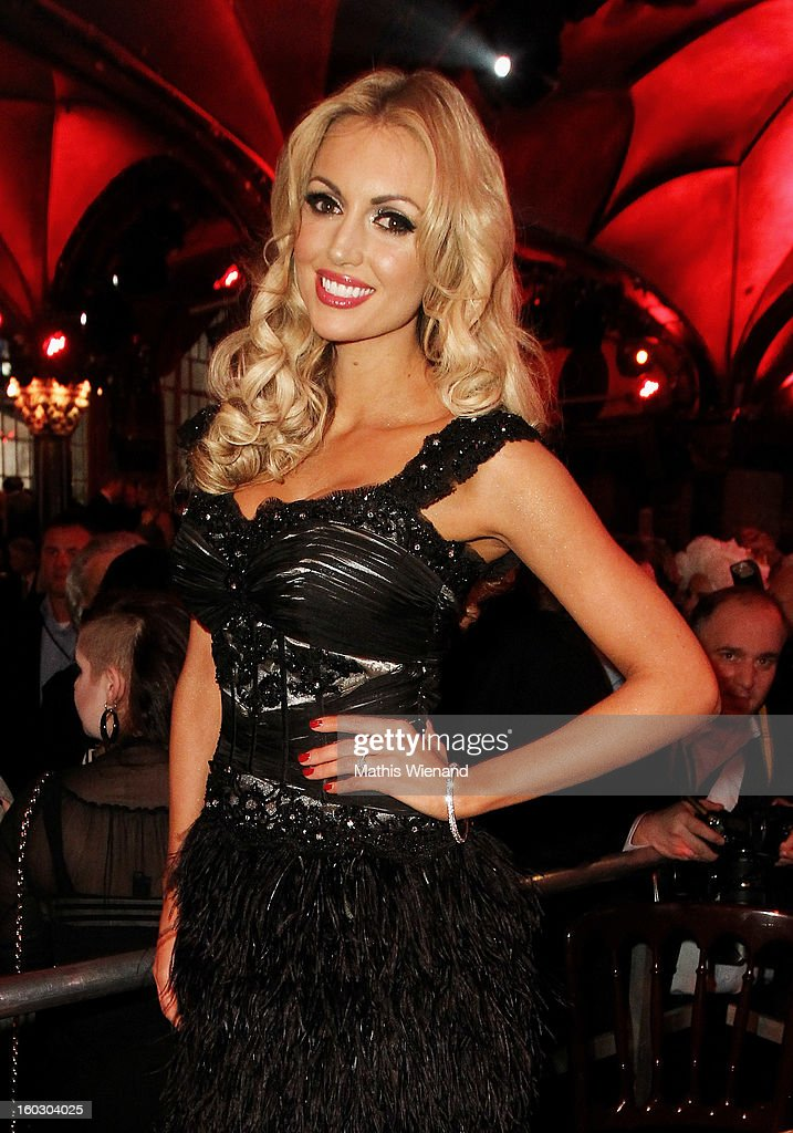 Rosanna Davison attends the Lambertz Monday Night at Alter Wartesaal on January 28, 2013 in Cologne, Germany.