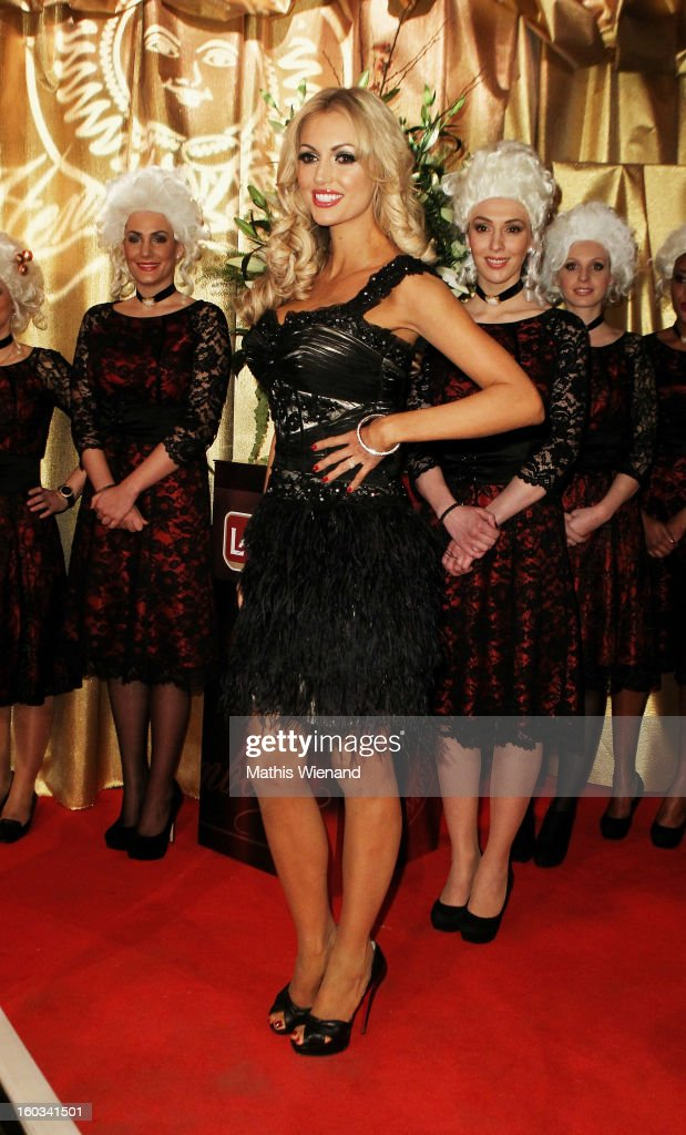 Rosanna Davison attends the 'Lambertz Monday Night' at 'Alter Wartesaal' on January 28, 2013 in Cologne, Germany.