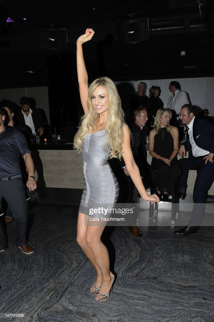 Rosanna Davison attends the Movie Meets Media Party during the Munich Film Festival at P1 on July 2 2012 in Munich Germany