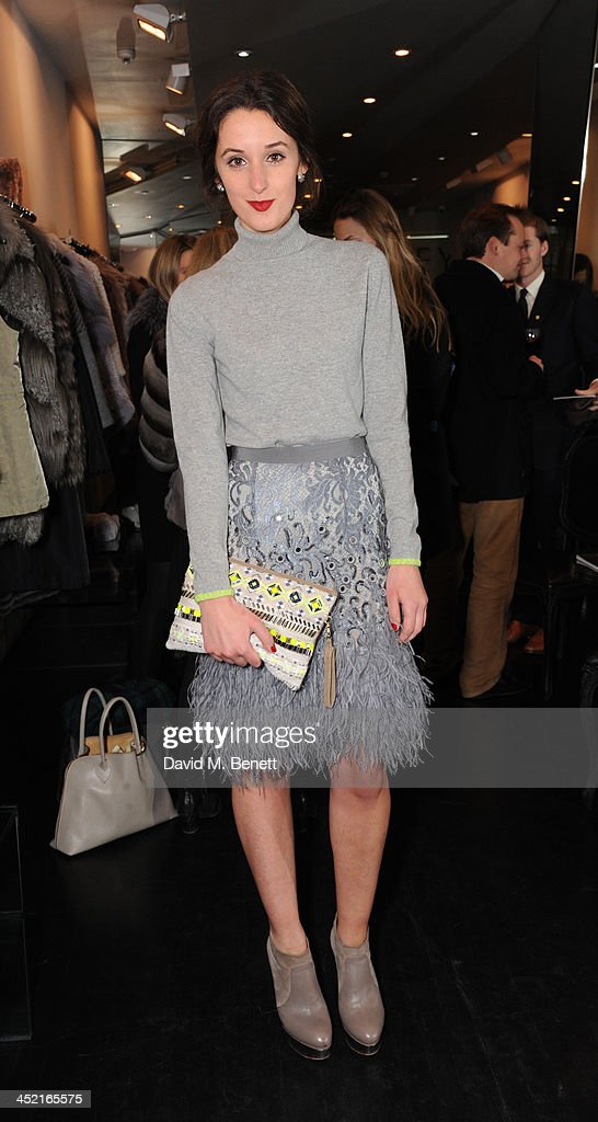 Rosanna Falconer attends A Winter's Evening With Hockley hosted by Alice Naylor-Leyland and Katie Readman to preview the Autumn/Winter 2013-2014 collection at the Hockley Conduit Street store on November 26, 2013 in London, England.