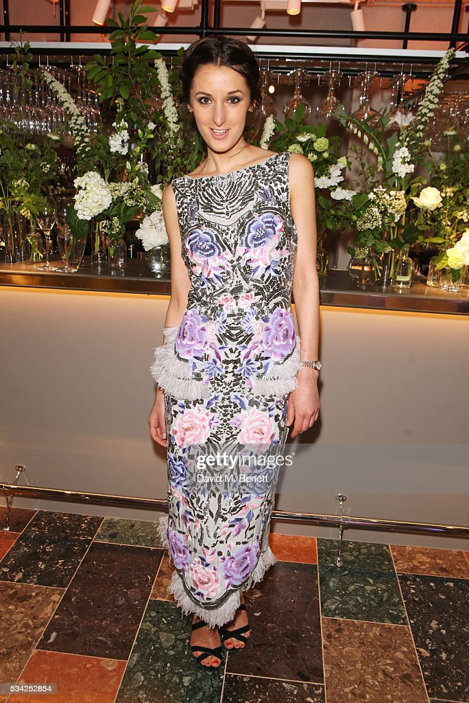 Rosanna Falconer attends the London Evening Standard Londoner's Diary 100th Birthday Party in partnership with Harvey Nichols at Harvey Nichols on May 25, 2016 in London, England.
