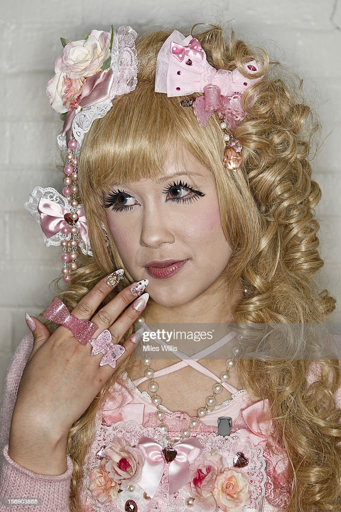 Rosanna Mackney from Portsmouth in 'Sweet Lolita Tufu Cute' fashion attends Hyper Japan at Earl's Court on November 24, 2012 in London, England. Hyper Japan is the UK's biggest Japanese culture event with many of the visitors dressing as cosplay, anime and manga characters.