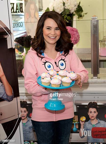 Rosanna Pansino attends the Angry Birds Stella Brand Launch at Little Cupcake Bakeshop on April 26 2014 in New York City