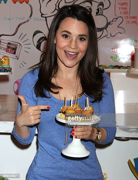Rosanna Pansino attends the Unleash YouTube Event and Fan MeetUp at 404 Event Space on April 23 2014 in New York City