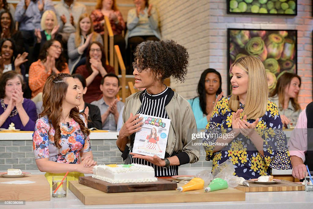 THE CHEW - Rosanna Pansino is the guest on THE CHEW, airing Wednesday, May 4, 2016. 'The Chew' airs MONDAY - FRIDAY (1-2pm, ET) on the ABC Television Network. OZ