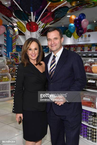 Rosanna Scotto and Greg Kelly attend as Dylan Lauren celebrates the Sweet 16 of Dylan's Candy Bar on October 17 2017 in New York City