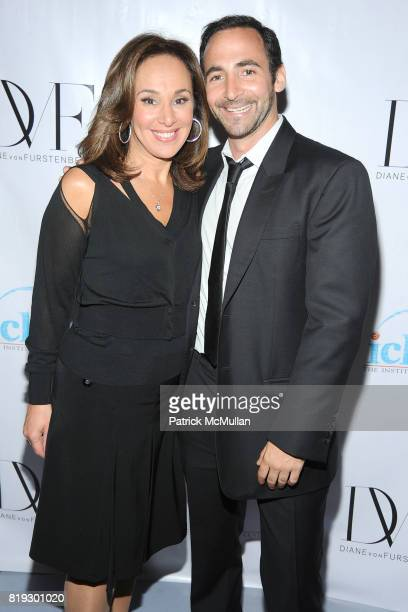 Rosanna Scotto and Kirk Spahn attend INSTITUTE FOR CIVIC LEADERSHIP 2010 Spring Benefit at DVF Studio on June 15 2010 in New York City