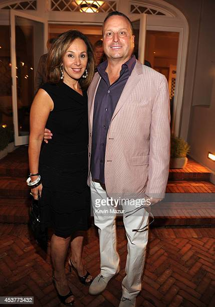 Rosanna Scotto and Louis Ruggiero attend Apollo in the Hamptons at The Creeks on August 16 2014 in East Hampton New York