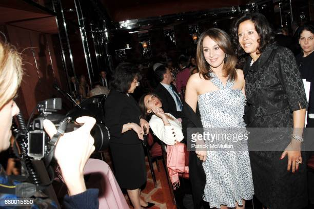 Rosanna Scotto and Michelle Paige Paterson attend Lighthouse International POSH Preview Benefit Dinner at Doubles Club on May 12 2009 in New York City