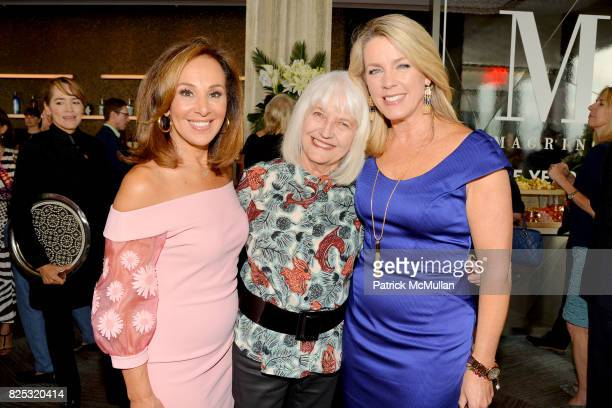 Rosanna Scotto Ellen Levine and Deborah Norville attend Magrino PR 25th Anniversary at Bar SixtyFive at Rainbow Room on July 25 2017 in New York City
