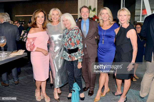 Rosanna Scotto Susan Magrino Ellen Levine Michael Clinton Deborah Norville and Cathie Black attend Magrino PR 25th Anniversary at Bar SixtyFive at...