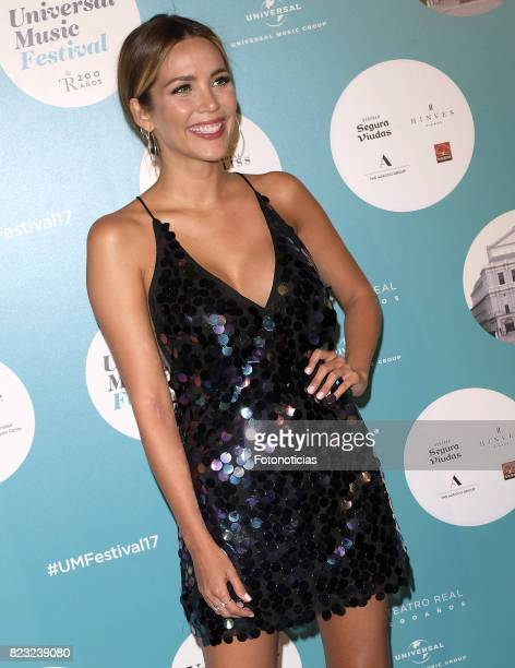 Rosanna Zanetti attends the David Bisbal Universal Music Festival concert at The Royal Theater on July 26 2017 in Madrid Spain
