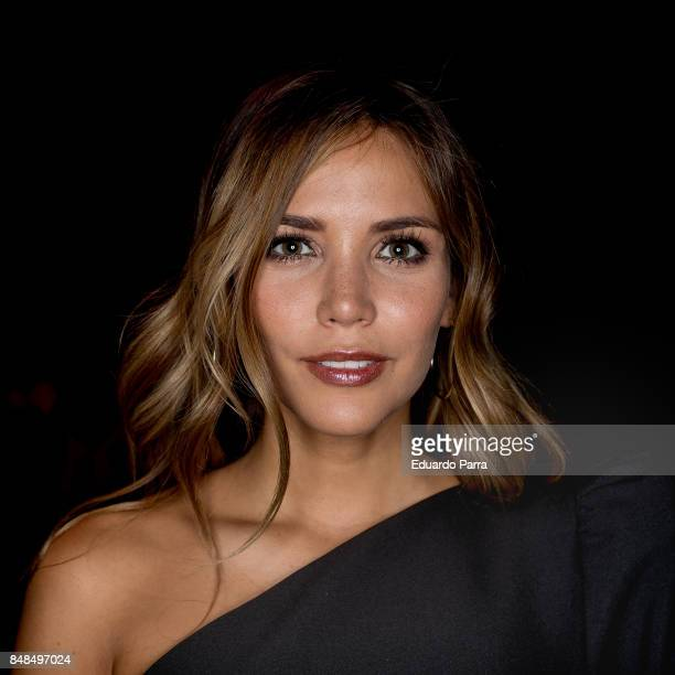 Rosanna Zanetti attends the Juana Martin catwalk during the Mercedes Benz Fashion Week Spring / Summer 2017 at IFEMA on September 17 2017 in Madrid...