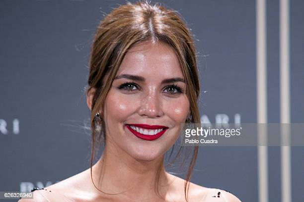 Rosanna Zanetti attends the opening of the exhibition 'Bulgari and Roma' at Italian Embassy on November 28 2016 in Madrid Spain