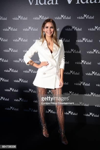 Rosanna Zanetti is presented as image for Vidal Vidal on September 27 2017 in Madrid Spain
