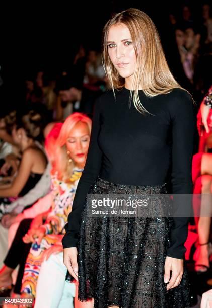 Rosanna Zanetti is seen at Hannibal Laguna front row during MercedesBenz Fashion Week Madrid Spring/Summer 2018 on September 18 2017 in Madrid Spain