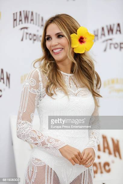 Rosanna Zanetti presents Hawaiian Tropic 2017 at the Emperador Hotel on May 11 2017 in Madrid Spain