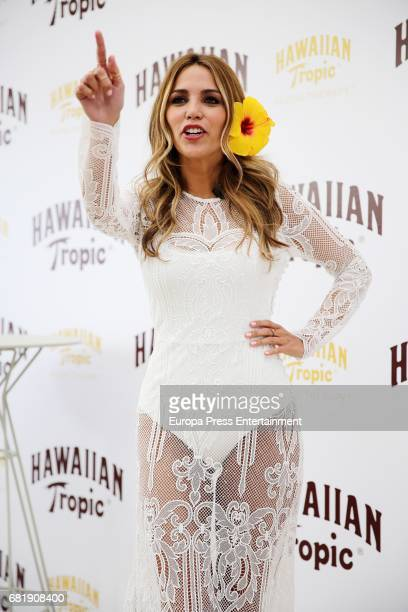Rosanna Zanetti presents Hawaiian Tropic 2017 at the Emperador Hotel on May 11 2017 in Madrid Spain