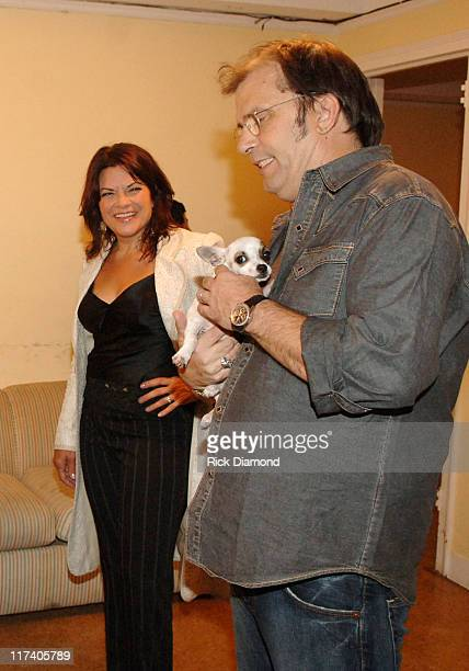 Rosanne Cash and Steve Earle and Pepe during CMT CROSSROADS Steve Earle and Rosanne Cash Taping Airing September 15 2006 at Manhattan Center @ The...