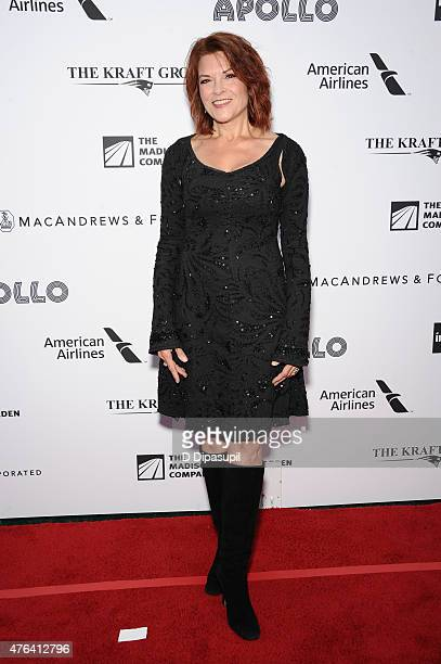 Rosanne Cash attends The Apollo Theater's 10th Annual Spring Gala at The Apollo Theater on June 8 2015 in New York City